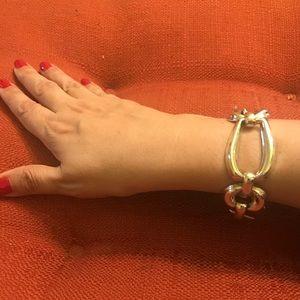 **SOLD** Vintage Taxco Modernist 925 Link Bracelet